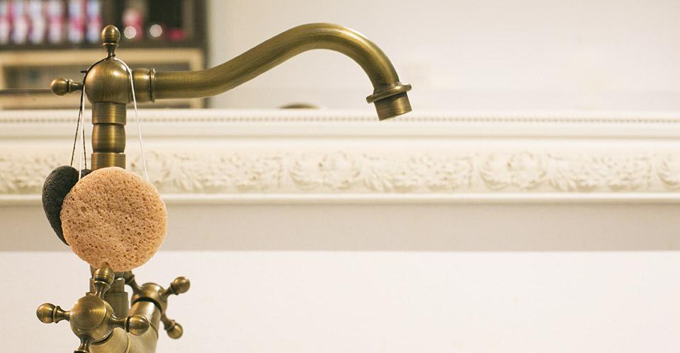 La salle de bain vintage